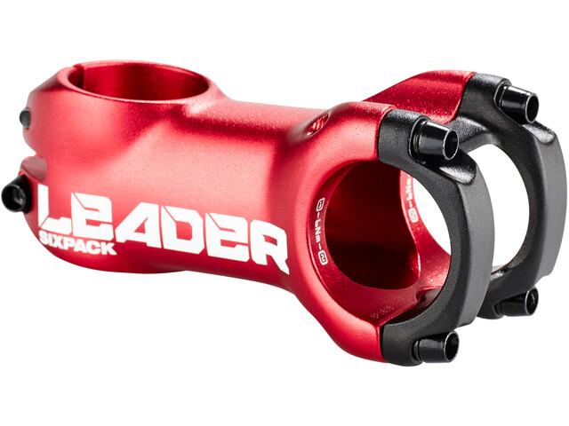 Sixpack Leader Vorbau Ø31,8 mm red